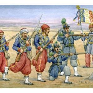 Infanterie légère française de Crimée (strelets024) 1/72