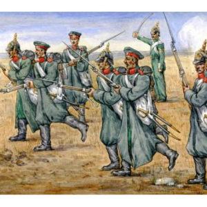Infanterie de ligne russe de Crimée (strelets025) 1/72