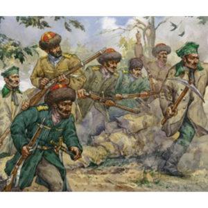 Infanterie de marine cosaque Russe de Crimée (strelets027) 1/72