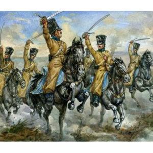 Hussards Russes de la Guerre de Crimée (strelets034) 1/72