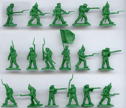 Grenadiers Russes de la Guerre de Crimée (strelets039) 1/72