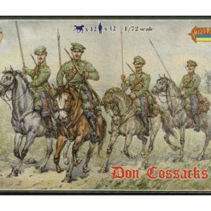 Cosaques du Don en tenue d'été WWI (strelets076A) 1/72