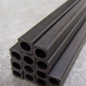 Tube carbone  6,0 x 4,0 x 1000 mm carré/rond (A2P215204)