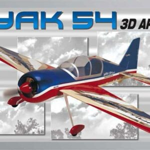 YAK 54 ElectriFly 3D E-Performance 1040mm ARF (SF1711542) PROMO