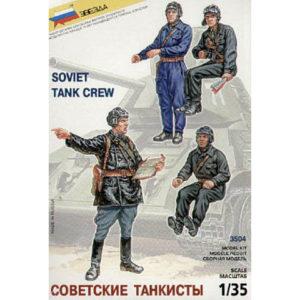 Tankistes soviétiques (zvezda-3504) 1/35