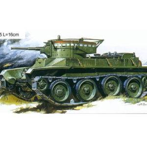 Char léger soviétique BT-5 (zvezda-3507) 1/35