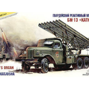 Lance-roquettes multiple 'Katioucha' (zvezda-3521) 1/35