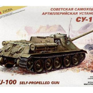 Obusier soviétique SU-100 (zvezda-3531) 1/35