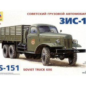 Camion soviétique ZIS-151 (zvezda-3541) 1/35
