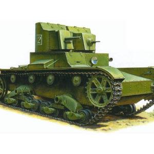 Char léger soviétique T-26 (zvezda-3542) 1/35