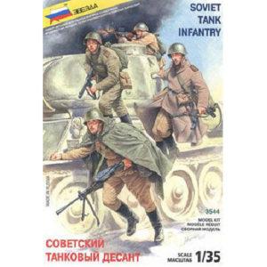 Troupes soviétiques de descente à bord blindé (zvezda-3544) 1/35