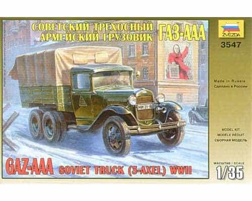 Camion soviétique Gaz-AAA (zvezda-3547) 1/35