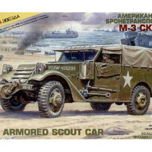 Véhicule M3 Scout (zvezda-3581) 1/35