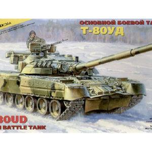Char de bataille soviétique-russe T-80UD (zvezda-3591) 1/35
