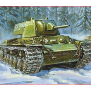 Char lourd soviétique KV1 modèle 1940 (zvezda-3624) 1/35