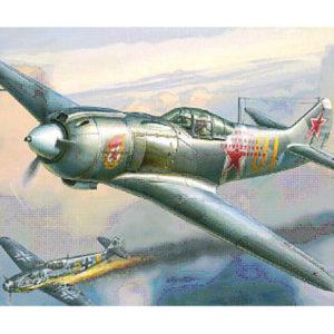 Chasseur soviétique Lavotchkine La-5FN (zvezda-4801) 1/48