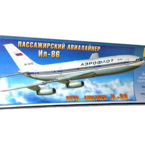 Iliouchine Il-86 (zvezda-7001) 1/144