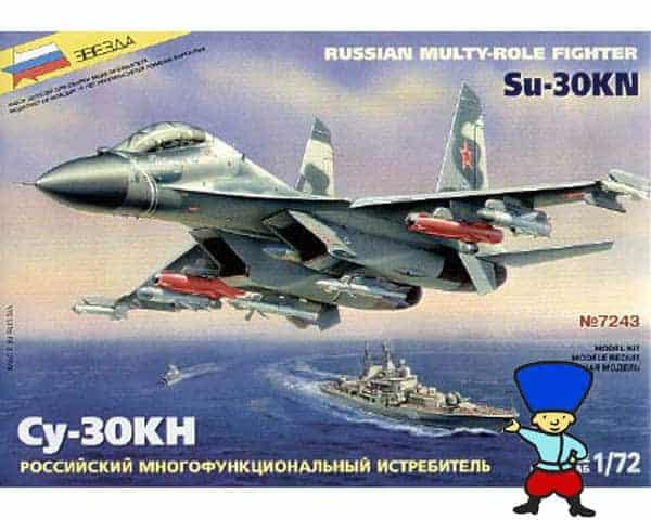 Sukhoï SU 30KN (zvezda-7243)